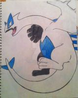 Lugia by RedDeadRAVAGE