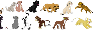 Lion Cub Adopts by Amazing-Max