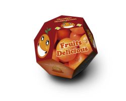 Packaging Fruits Delicious Dodecaedro by ionox