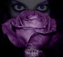 The girl and the Rose of Death by Zozzy-evil