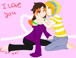 gift i love you by MuffinNinjaFairy