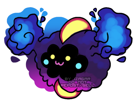 [Merch] Cosmog Charm Preview by Izagar