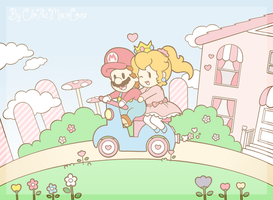 .:A ride on scooter:. by CloTheMarioLover
