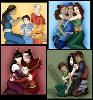 Four nations - Four families by Lady-Pirate
