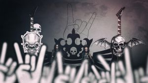 The Metal Concert by Binary-Map