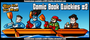 AT4W: Comic Book Quickies #2 by MTC-Studio