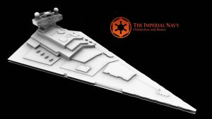 Imperial Star Destroyer WIP 5 by VacuityMechanica