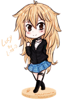 Chibi Lucy by ROYHACK