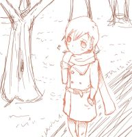Norway Sketch~ by Hanyan-x3
