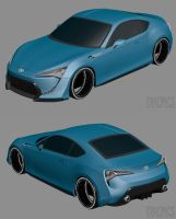 Toyota FT-86 II WIP2 by The-IC