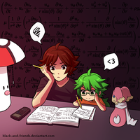 math homework by artist-black