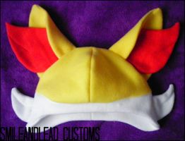 Fennekin Hat by SmileAndLead