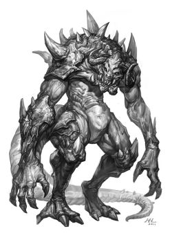 H.L monster NO.4 by hualu