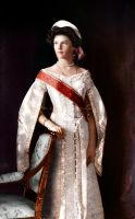 Grand Duchess Tatiana in court dress by klimbims