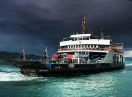 Ferry Tale HDR by evrengunturkun