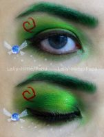 Link The Kokiri's Boy- Zelda Make-up by Lally-Hime