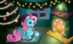 Minty By the Fire (Redraw) by AnScathMarcach
