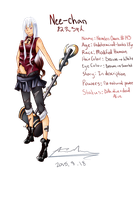 Character Concept - Nee-chan by Silene-Nocturna