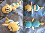 Dunsparce Plushie by dollphinwing