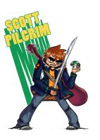 Scott Pilgrim by Mabelma