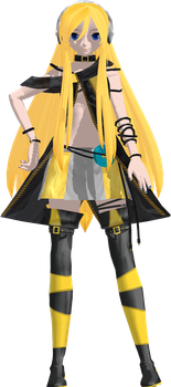 [MMD] DT Style Lily by megpoid625