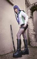 High School of the Dead - Saeko Busujima by pechenka123