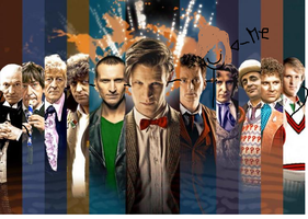 Doctor Who 50th Anniversary: Me and the doctors by Artieukchan