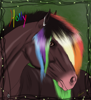 Holly Equine by VenomXic