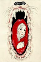 Little Red Riding Hood by himynameisfo