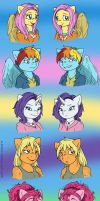 Some Manes by MustLoveFrogs