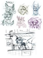 Sketch Dump of whatever by jack104