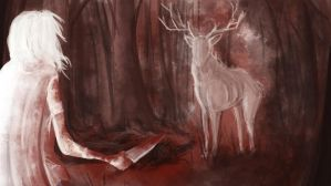 Blood Wood by Ludmila-Cera-Foce