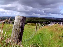 Cornish countryside by kaelby