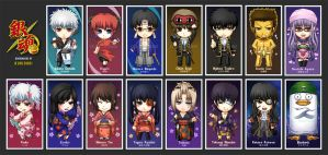 Gintama bookmarks konoyaro by kuridoki