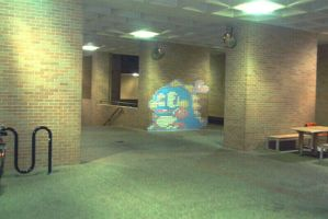 Bubble Bobble Chalk Art 2 by yooki42