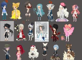 Free selfy adopts :CLOSED: by Carlie21