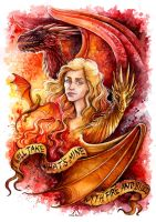Fire And Blood by TrollGirl