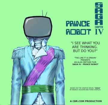 TLIID Movie posters - Prince Robot IV by Nick-Perks