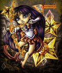 Sailor Mars by HeirOfGlee