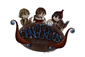 .:Dangerous Game Logo:. by bleuberry109