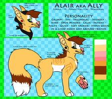 Ally Feral Ref New by TheFrizzyKitten