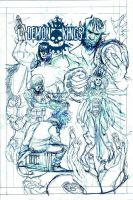 DEMON KINGS i3 COVER (roughs) by theCEOofDEATH