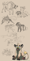 March Sketches 2014 by Chipo-H0P3