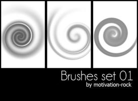 rare brushes set by Motivation-rock