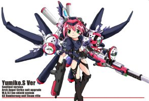 Yumiko.Sentinel ver. Pink by NCH85