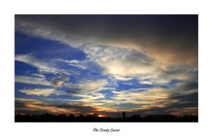 The Cloudy Sunset by m-Tuffy