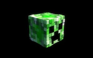 MC wallpaper Creeper Edition by NeoTendar
