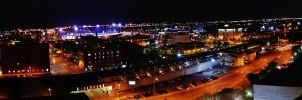 Oklahoma City - Bricktown On Saturday Night by 814CK5T4R