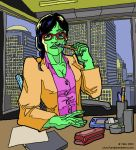She Hulk by DrMike2000