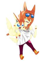 Victini by LiloMelons